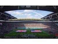 ** Baltimore Ravens V Jacksonville Jaguars LOWER SIDELINE!! NFL Wembley 24th September**