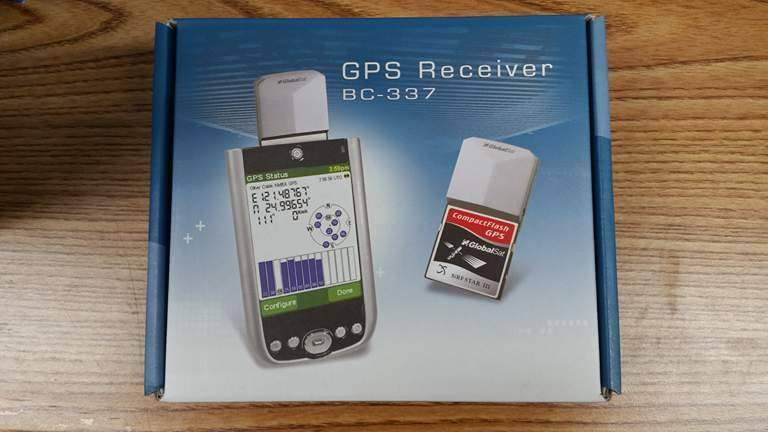 GlobalSat BC-337 SiRF Star III Compact Flash GPS Receiver Antenna- NEW