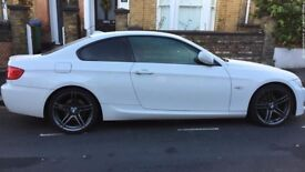 Only 2 owners! A rare & absolutely stunning BMW 320i M Sport Coupe Auto in Alpine White