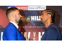 *FACE VALUE * ROW E LOWER TIER DAVID HAYE VS TONY BELLEW TICKETS LONDON
