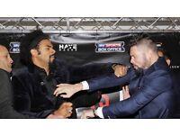 2 tickets David Haye vs Tony bellew london the o2 arena boxing