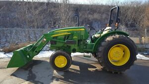 John Deere 5075E 2WD with a Loader