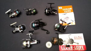Best offer Luxor, Daiwa, Zebco and Shakespeare fish reels