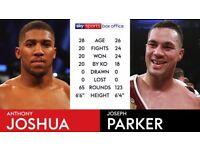 Joshua vs Parker!!!!! Heavy Weight Fight!!