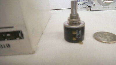 Clarostat 100k Precision Potentiometer Wirewound10 Turn 73ja 100k Nos