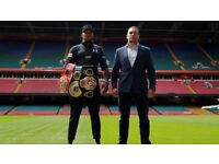 1 x Anthony Joshua v Kubrat Pulev Ticket