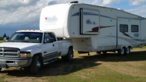 dodge truck 5th wheel trailer