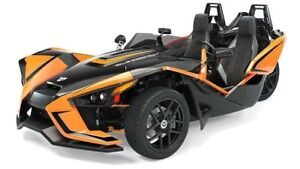2019 Polaris SLINGSHOT SLR AFTERBURNER ORANGE / 89$/sem