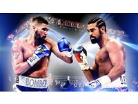 2x Sky Bar tickets for Tony Bellew vs David Haye. 04/03/2017. *ROW A*