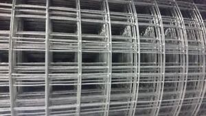 T-post and 4' tall welded wire mesh or galvanized welded stucco