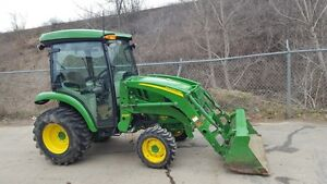 John Deere 3033R Cab Tractor with Loader