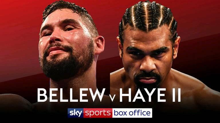 2 bellew v haye boxing tickets