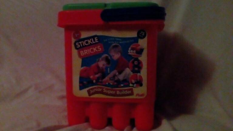 Stickle Bricks & kid K'nex