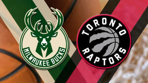 Raptors v Bucks - ECF Game 4 - 5.21 - S305 R4 - 3 Tickets