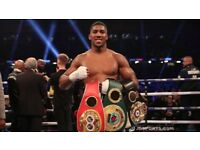 Anthony Joshua Vs Joseph Parker tickets upper tier