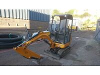 2011 JCB 8018 CTS mini excavator - £8,950 +VAT