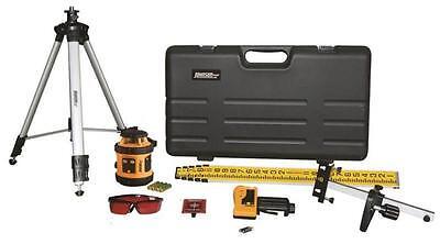 New Johnson Level 40-6517 Rotary Laser Self Leveling Level Kit Sale 4453460