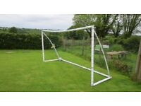 Do you have a football mad son/daughter and a garden? Samba Football Goal 6ft x 12ft