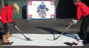 Best price guaranteed, hockey shooting pads in 3 sizes from $25