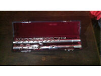 Solid Silver Head FLUTE