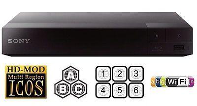 Sony BDP-S3700 2D Blu-ray Disc Player Multiregion Blu-ray+DVD