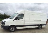 Van & Man ( nice man ) Hire - Chichester - Long Wheel Base VW - Immediate Quote