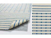 Wool flatweave Tjareby Ikea rug 170 x 240 cm- I have 2