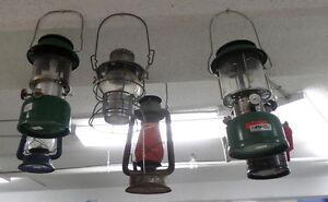Vintage Barn Lanterns/Coleman - Blue Jar Antique Mall
