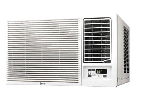 Lg Lw1216hr - 12,000 Btu 220v Window A/c W/ Heat: Remote & Window Vent Kit Incl.