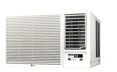 LG LW2416HR - 24,000 BTU 220V Window A/C w/ Heat: Remote & Window Vent Kit Incl.