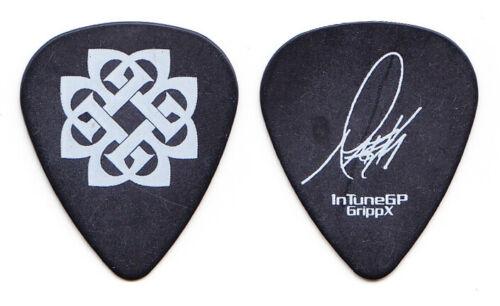 Breaking Benjamin Mark James Klepaski Signature Black Guitar Pick #2 - 2008 Tour