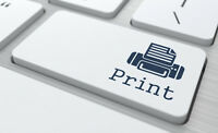 Document printing - Color and B&W - Laser printing