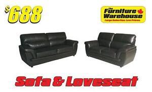 Sofa & Loveseat Only $688
