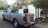 Free scrap metal appliance and electronics pickup text or call