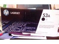 Laserjet Printer cartridge 53A Black