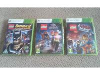 3 x Lego Xbox 360 games - £10 each