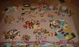 Large Bundle Of LEGO Friends