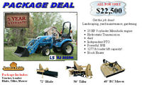 NEW LS Tractor package deal