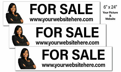 Real Estate Sign Riders Picture Website 9pk Corrugated Plastic Free Ship