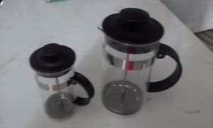 Small and big coffee plunger $30 Bethania Logan Area Preview