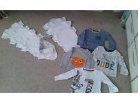 Baby boy clothing bundle (9-12 mths)