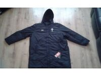 Original WRU rugby coat 4XL RRP £89.99 Brand new with tags.