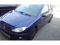 Peugeot 206 spares or repair