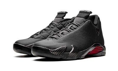 Air Jordan 14 Retro SE Black Ferrari Sneaker (BQ3685-001) Men's Size 9.5 NIB DS