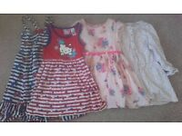 Girls dresses age 3-4