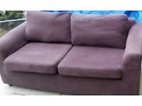 IKEA 2 SEATER SOFA FREE MUST COLLECT TODAY ONLY