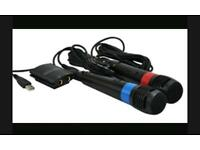 Ps2 singstar microphones.