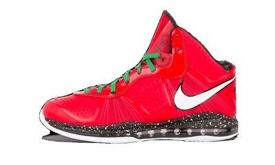 Nike LeBron 8 V/2 Christmas Mens Size 10 Basketball Shoes 429676-600
