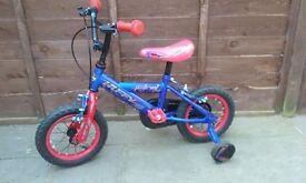 """Boys Huffy Patriot Bike 12"""" wheels"""