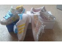 LADIES BRAND NEW TRAINERS FOR SALE